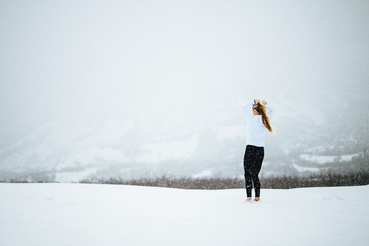 Snow Needs Polarizing Filter