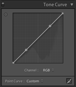 lightroom matte tutorial tone curve step 02